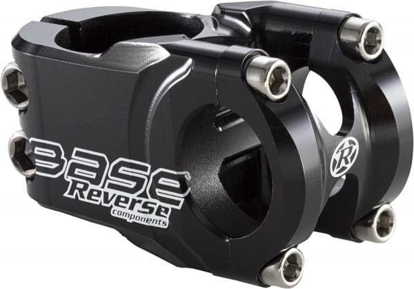 Base Vorbau - 25,4 mm - schwarz