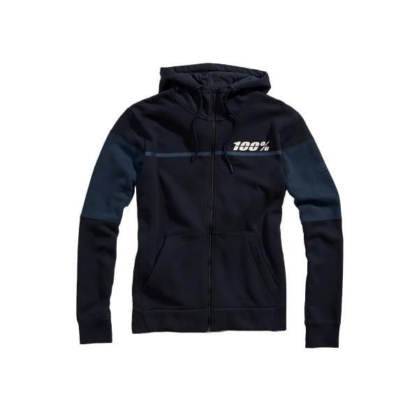 Emissary full-zip Hoody - Marineblau