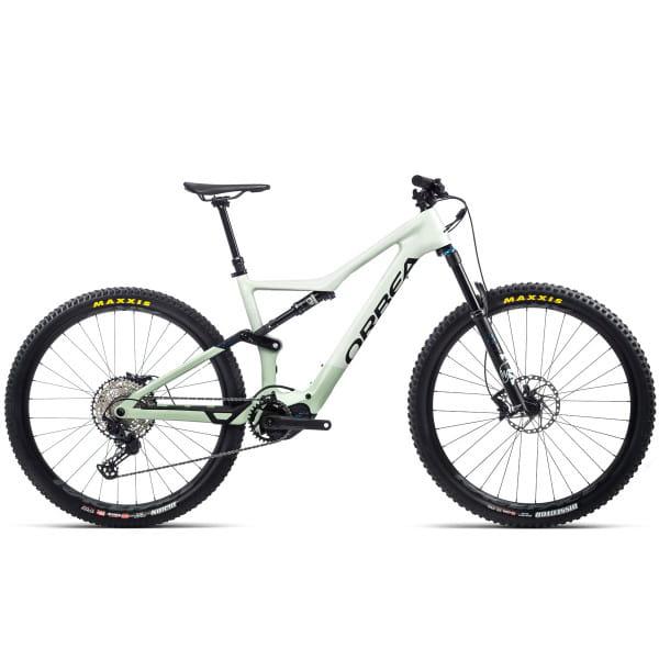 Rise M20 - 29 Zoll Fully E-Bike - Harzweiß/Nebelgrün