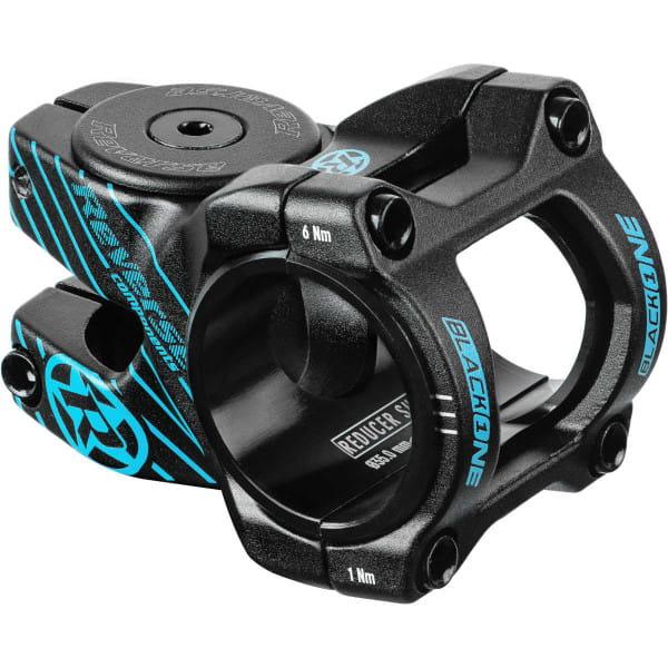 Black ONE D-2 Vorbau 35mm - schwarz/hellblau