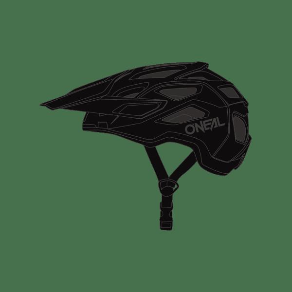 Pike 2.0 Solid Helm - Schwarz/Grau