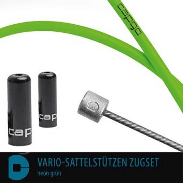 BL Vario-Sattelstützen Zugset - Neon Grün
