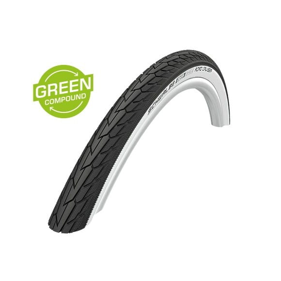 Road Cruiser Drahtreifen - 20x1.75 Zoll - K-Guard - GC - whitewall