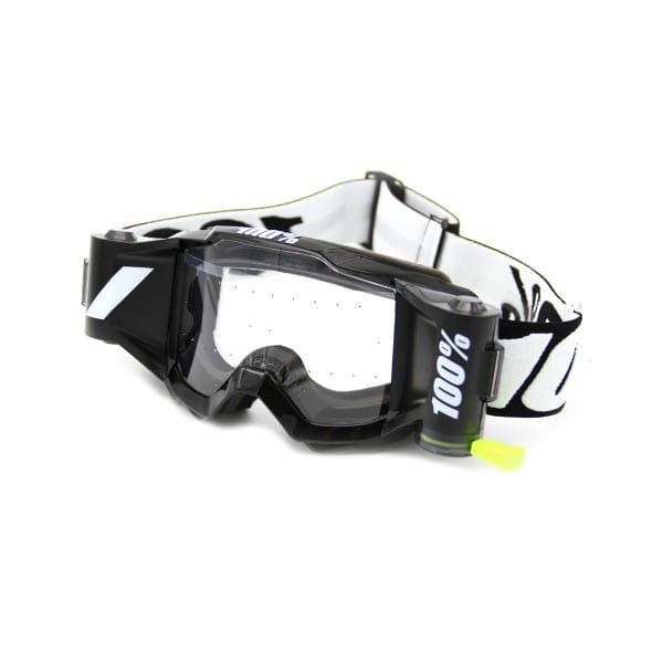 Accuri Forecast Youth Goggles w. Film System, Clear lens - Schwarz