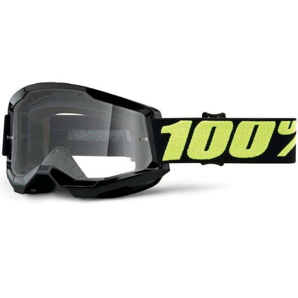 Strata Gen.2 anti fog Brille Clear - Schwarz/Gelb