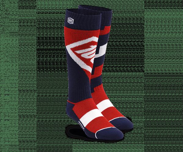 Moto Socken - Torque Red