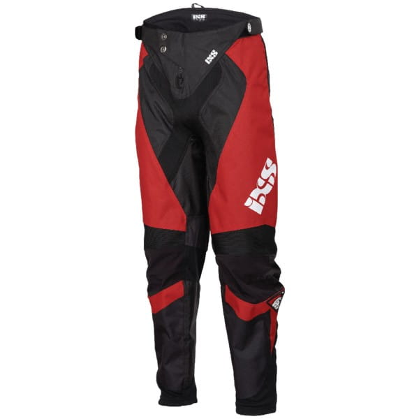 Race 7.1 DH Pants - Worldcup Edition - Rot/Schwarz