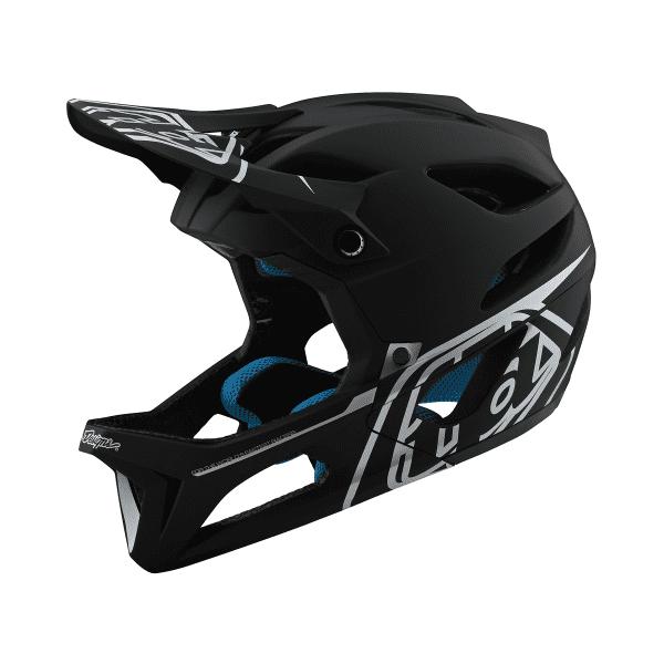 Stage Helmet (MIPS) STEALTH Fullface-Helm - Schwarz/Silber