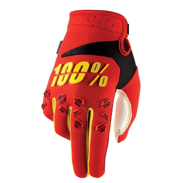 Airmatic Handschuh - Red