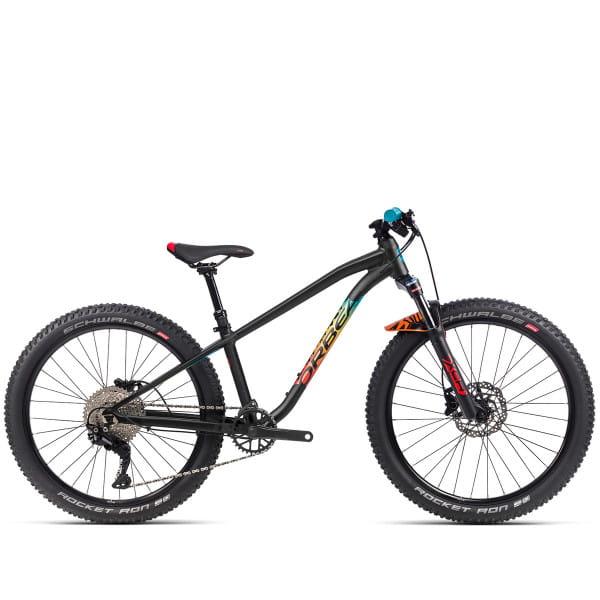 Laufey 24 H20 - 24 Zoll Kids Bike - Black/Rainbow