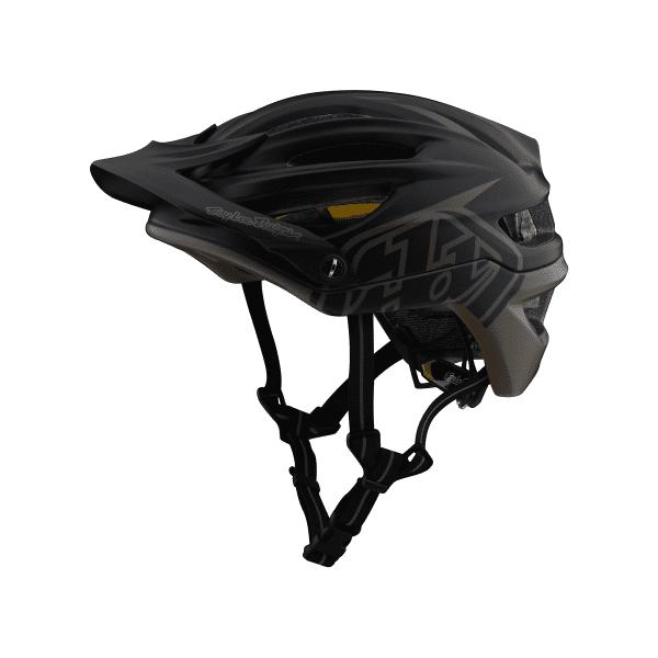 A2 Helmet (Mips) Helm - Blau/Walnuss