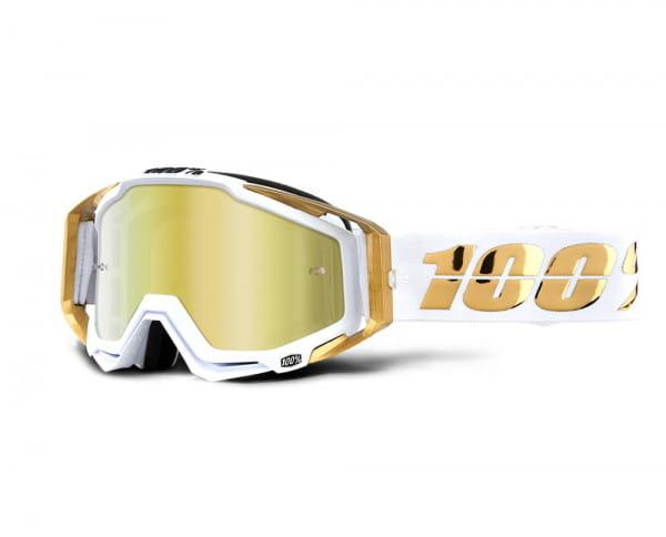 Racecraft Goggles Anti Fog Mirror Lens - LTD