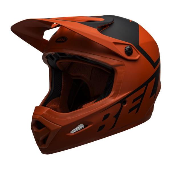 Transfer Fahrradhelm - Schwarz/Orange