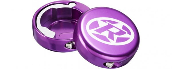Bar Ends Lenkerendkappen Paar - purple