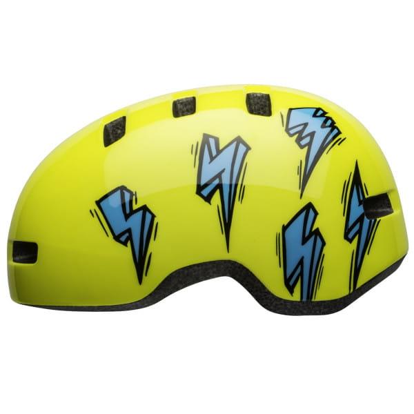 Lil Ripper Fahrradhelm - Gelb/Blau