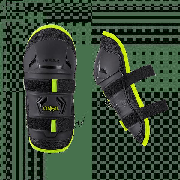 PeeWee Knee Guard - Kinder Knieschoner - Schwarz/Neongelb