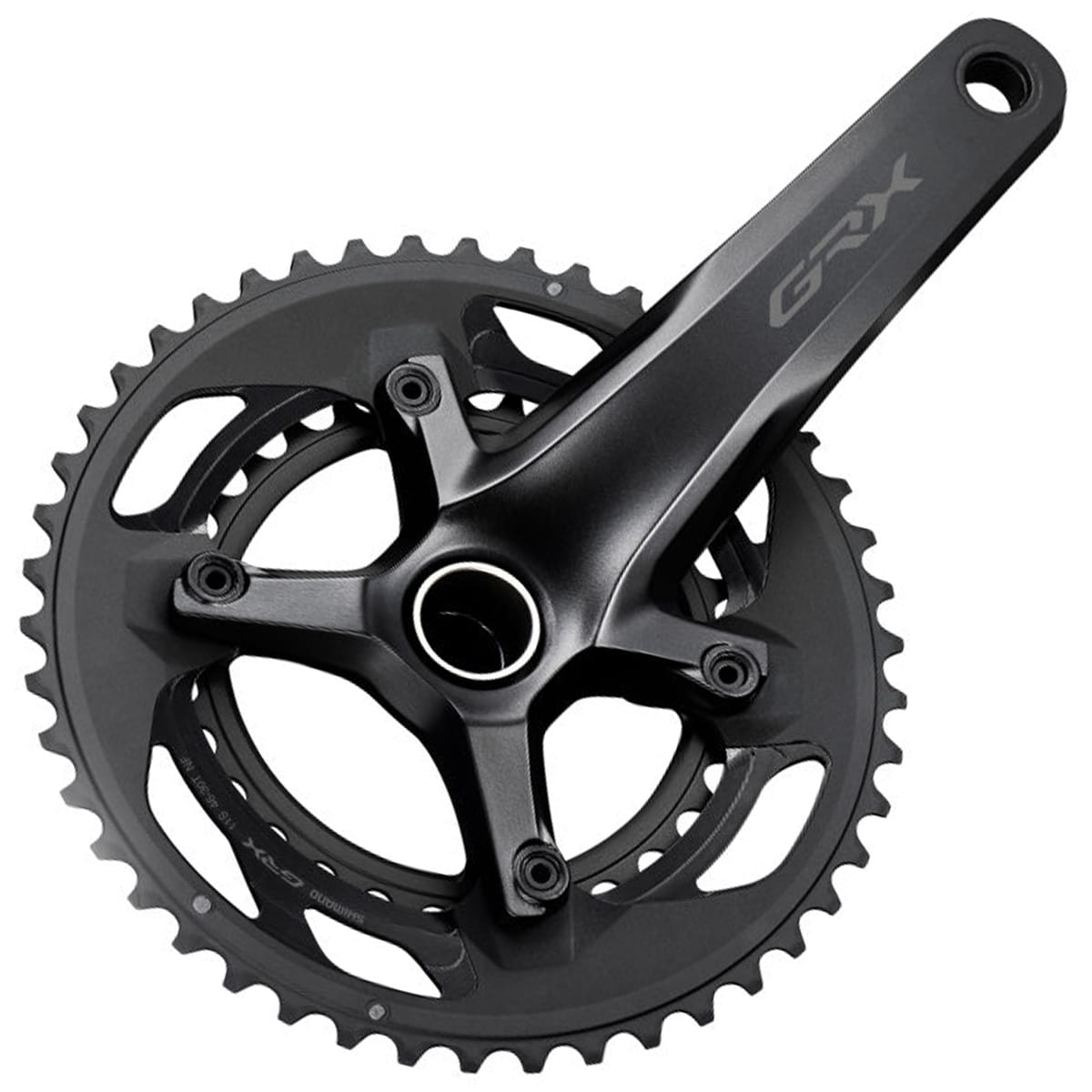 SHIMANO 2X11-Speed Road Bicycle Crankset FC-RX600-11