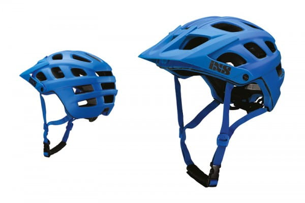 Trail RS EVO Helm - fluor blue
