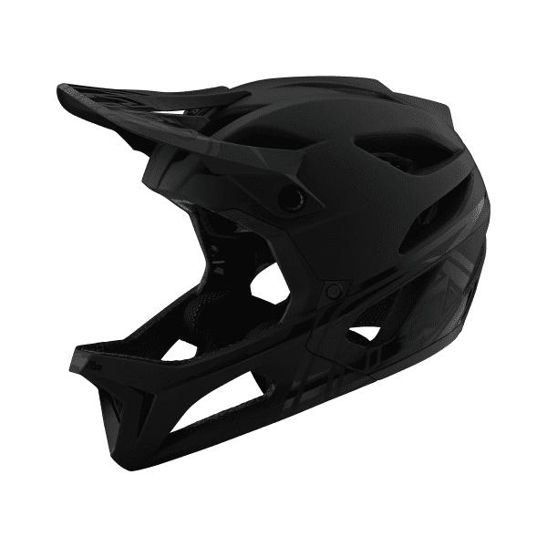 Stage Helmet (MIPS) STEALTH Fullface-Helm - Schwarz