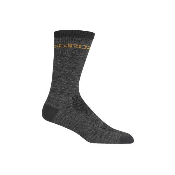 Merino Winter Socken - Grau