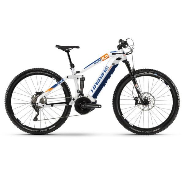 SDURO FullNine 5.0 Weiß/Orange/Blau - 2020
