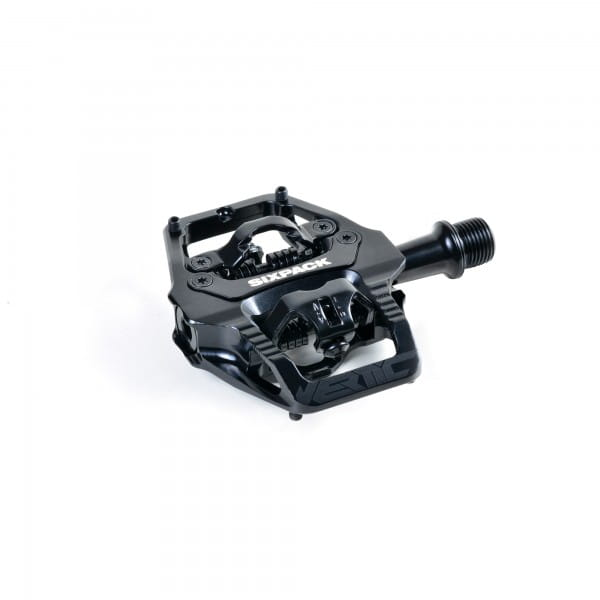 Vertic Trail Klickpedal - Q-Faktor 52,5mm - black