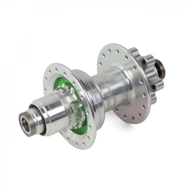Pro 4 DH Hinterradnabe silber 32 Loch - XD-Freilauf - 7-fach