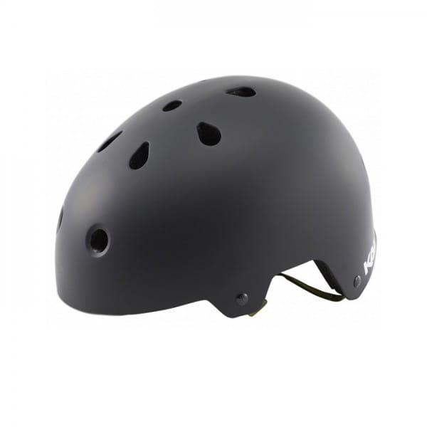 Maha Solid Dirt/BMX Helm - Schwarz