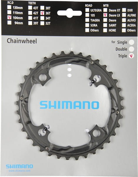 Kettenblätter für Shimano-Kurbeln FC-T661