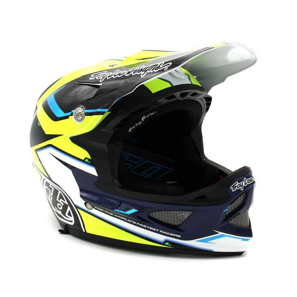 D3 Composite Helm - Cadence Schwarz/Gelb