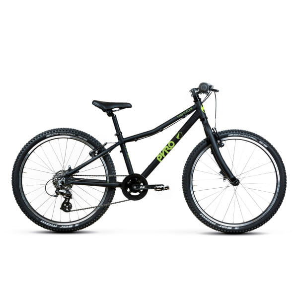 Twentyfour Large - 24 Inch Kids Bike - Black