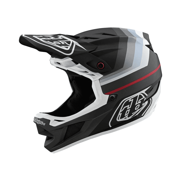 D4 Helmet (Mips) Composite Fullface-Helm - MIRAGE Schwarz/Grau/Weiß