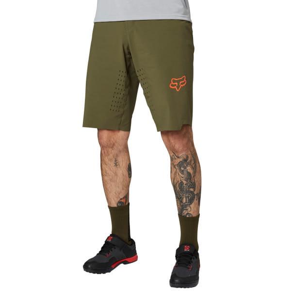 Flexair No Liner - Shorts - Olive Grün