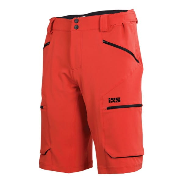 Tema 6.1 Trail Shorts - fluor red