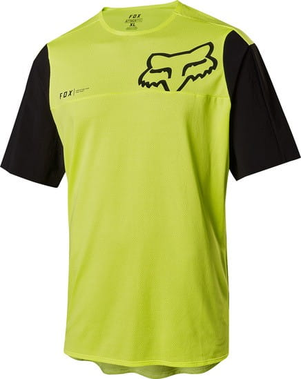 Attack Pro SS Jersey - Black/Yellow