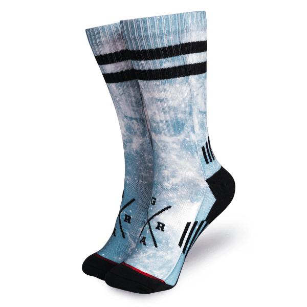 "Socken ""Kosmic Teal"" - Multi"