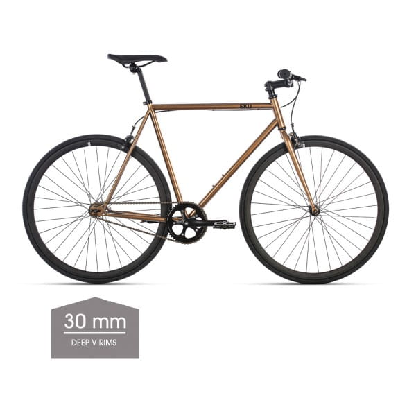 Dallas Singlespeed/Fixed Bike - 30 mm Deep V Felgen