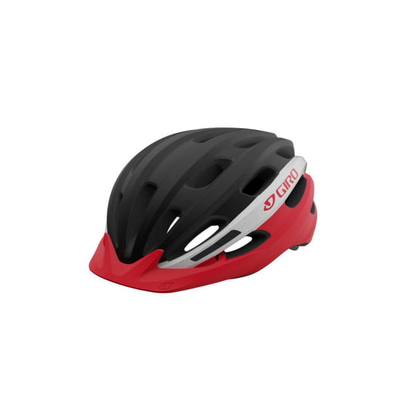 Register XL Fahrradhelm - Schwarz/Weiss/Rot