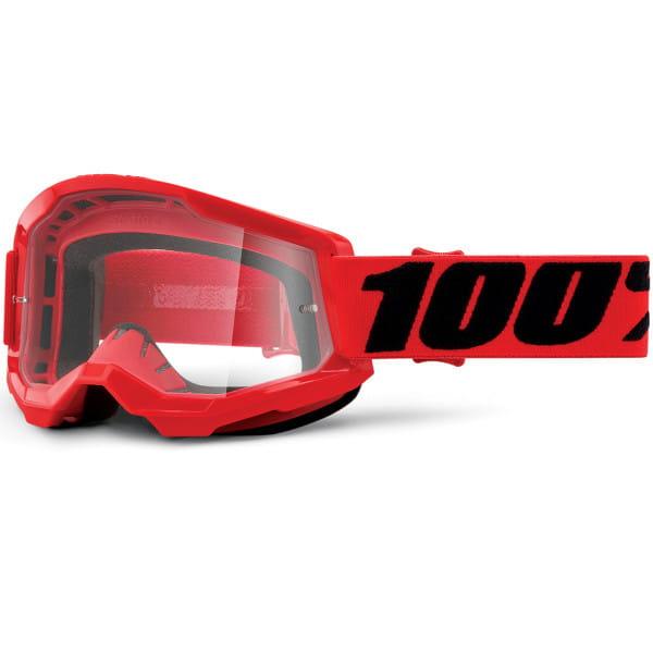 Strata Gen.2 anti fog Brille Clear - Rot