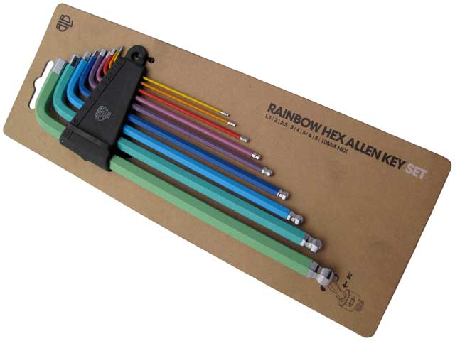 Blb Brick Lane Bikes Rainbow Allen Key Set Buy Online Bmo Bike Mailorder