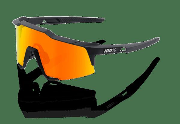 Speedcraft - Tall - HD Red Multilayer Lense/Hiper Lense - Soft Tact Black