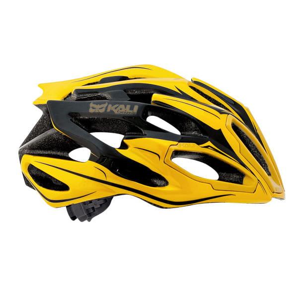 Maraka Fahrradhelm - Gelb/Schwarz