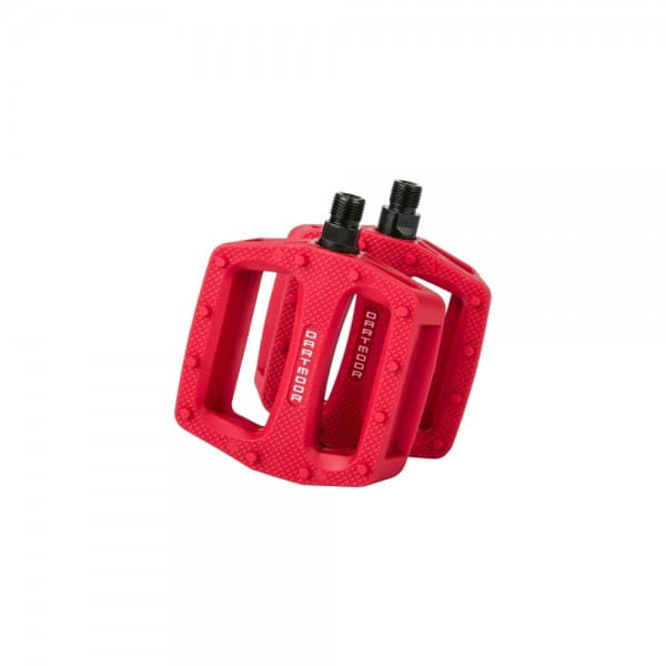 Cookie Plastic Pedal - Red