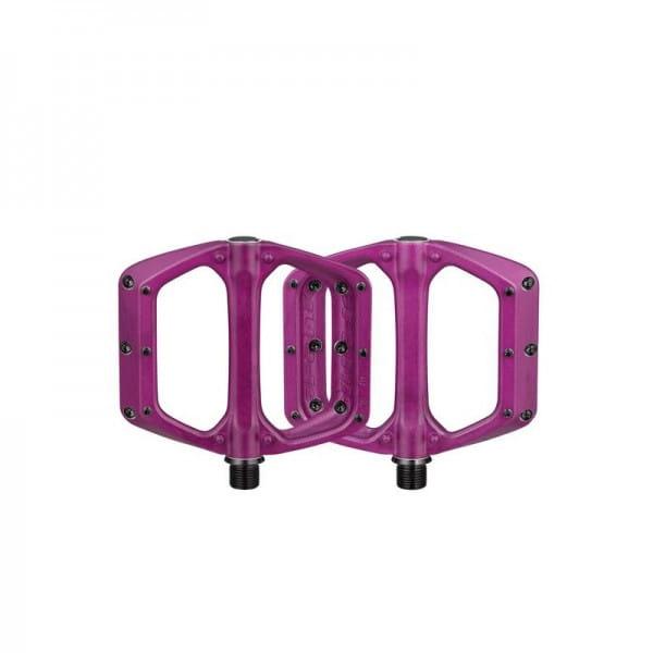 Spoon DC Flat Pedale - Purple