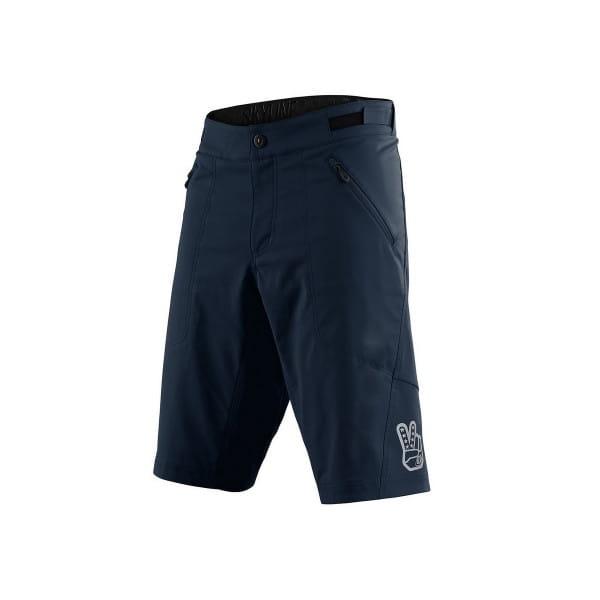 Skyline Shell - Shorts - Marine - Blau