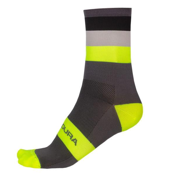 Bandwidth Socken - Gelb/Grau