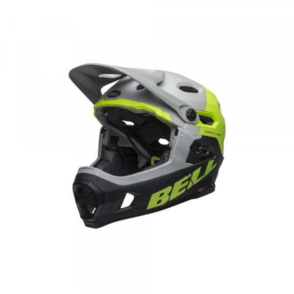 Casque de vélo Super DH Mips - Gris / Vert clair / Noir