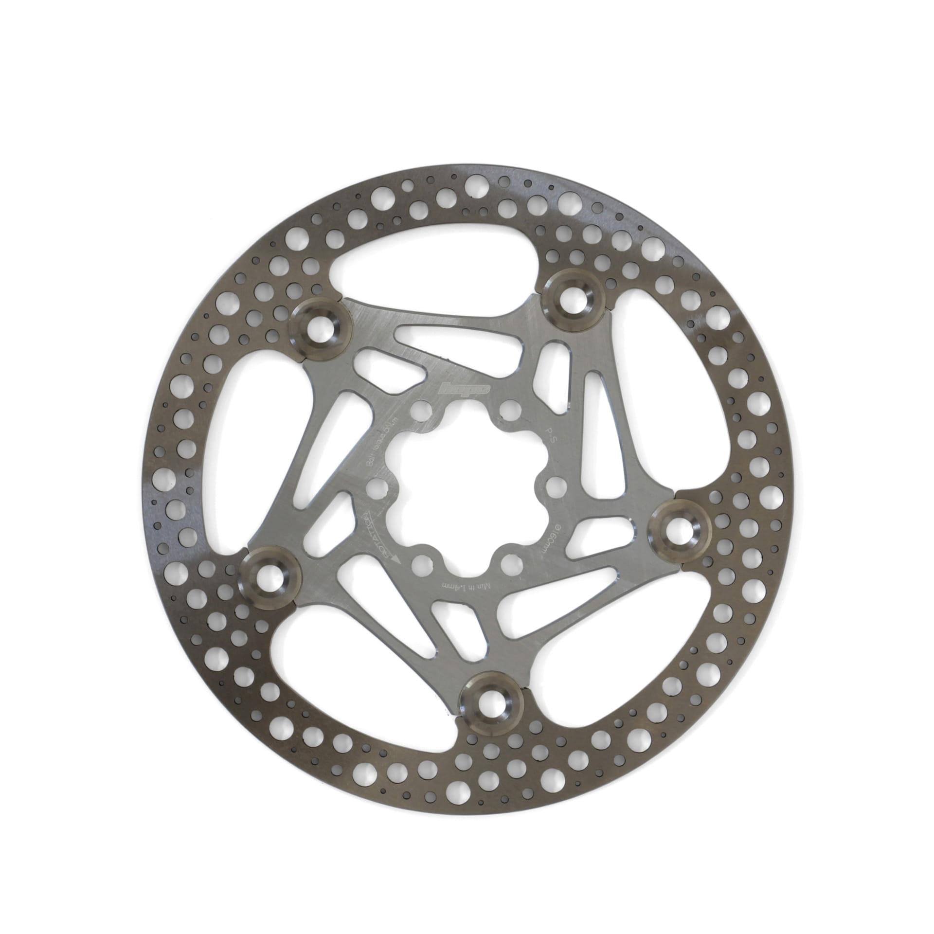 Hope Road Rotor 160mm Bremsscheibe - silber online kaufen | BMO Bike-Mailorder