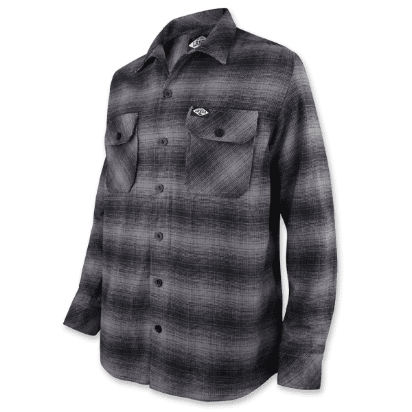 Flannel Hemd - Grau