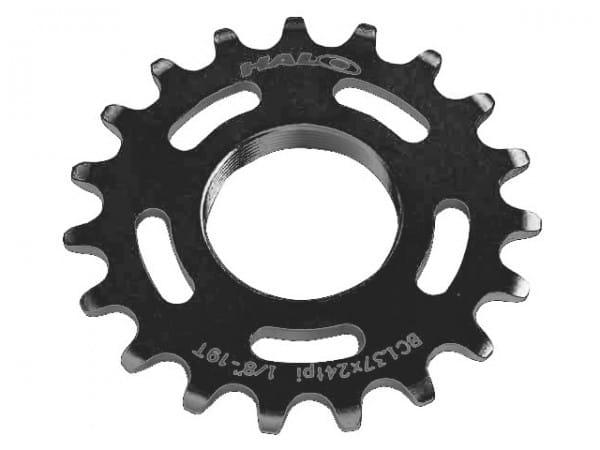 Fixed Cogs 1/8 Schraubritzel - schwarz